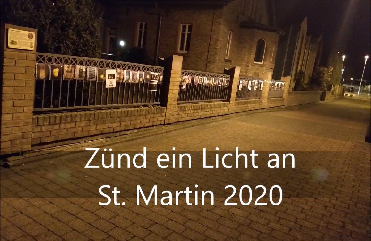 Ein ganz anderen Martinszug 2020
